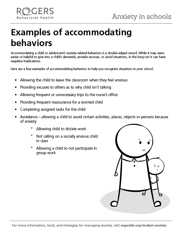 Printable resource: All about accommodation