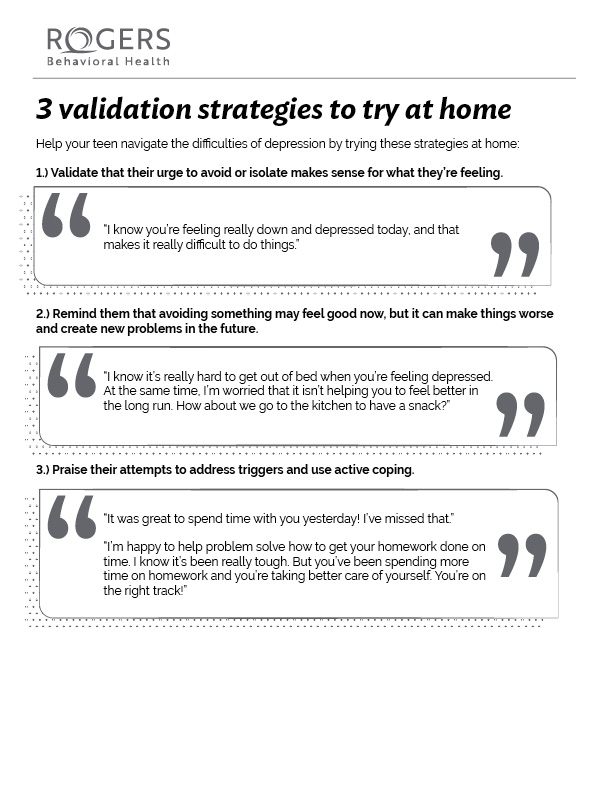 3 validation strategies to try at home