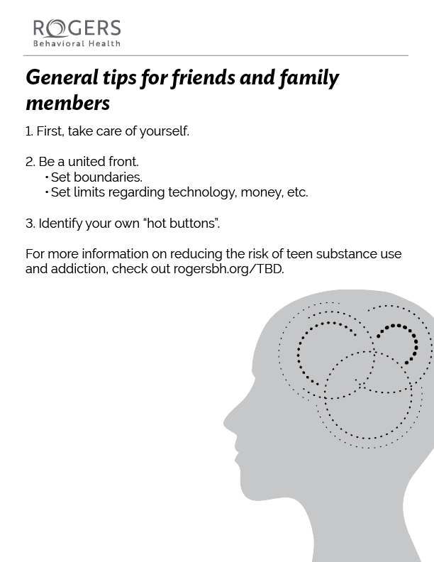 Tips for friends and family